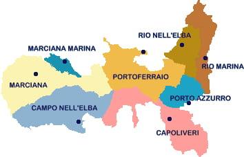 Cartina Isola Delba Capoliveri.Richiesta Preventivo